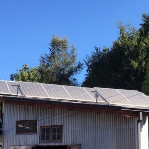 Sistema fotovoltaico La Pileta.